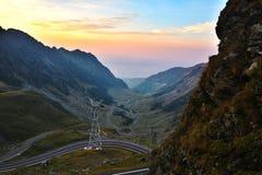 Transfagarasan - Romania. Probably the most beautiful road in the world Royalty Free Stock Photo