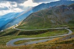 Transfagarasan - Romania. Probably the most beautiful road in the world Stock Photo