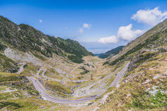 Transfagarasan ,Romania Royalty Free Stock Photos