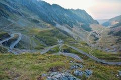 Transfagarasan - Romania. Probably the most beautiful road in the world Stock Photos