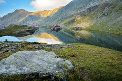 Transfagarasan - Romania. Probably the most beautiful road in the world Royalty Free Stock Images