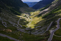 Transfagarasan, Roumanie Photo libre de droits