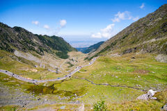 Transfagarasan, Roumanie Photos stock