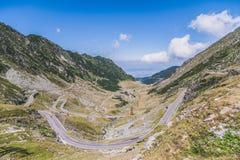 Transfagarasan, Rumänien Lizenzfreie Stockfotos