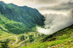 Transfagarasan, after the storm Royalty Free Stock Image