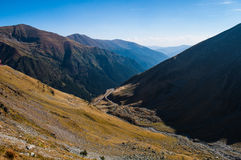 Transfagarasan Royalty Free Stock Images