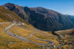 Transfagarasan Royalty Free Stock Photo