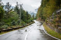 Transfagarasan in Transylvania, Romania Royalty Free Stock Images