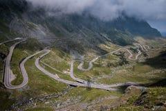 TransFagarasan trasa w Rumunia fotografia stock