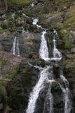 Transfagarasan waterfall river spring Stock Images