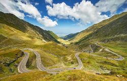 Transfagarasan Winding Road Royalty Free Stock Photo