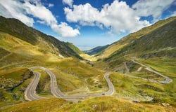 Transfagarasan Winding Road Royalty Free Stock Photo