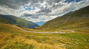 Transfagarasan Winding Road Stock Images