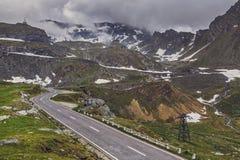 Transfagarasan winding road Stock Images