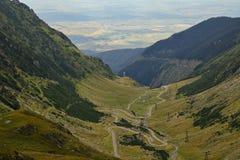 Transfagarasanweg, de Roemeense Karpaten Stock Afbeeldingen