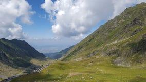 Transfagarasean mountain pass Stock Photos