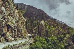 Transfagarasan road, Romania Stock Image