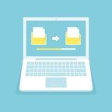 Transferência de arquivo Imagem de Stock