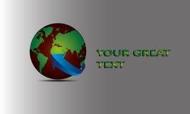 Transferência Logo Vetora Fotografia de Stock