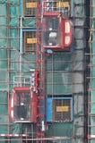 Transferência na área de funcionamento da construção Imagem de Stock Royalty Free