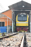 The transfer ceremony of Diesel-electric locomotive to State Railway of Thailand Royalty Free Stock Photography