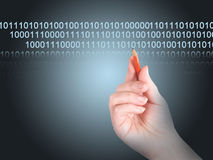 transfer danych Obrazy Stock