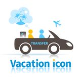 Transfer royalty free illustration
