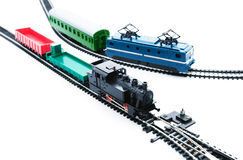 Transfer via railroad! Royalty Free Stock Images