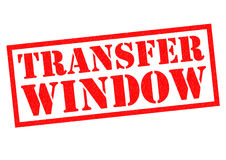 TRANSFER WINDOW Stock Photos