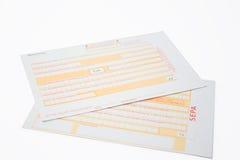 Transferencia bancaria Imagen de archivo