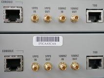 Transferencia de Ethernet vía el PoE Imagen de archivo