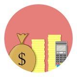 Transferencia de fondos con la tarjeta de crédito libre illustration