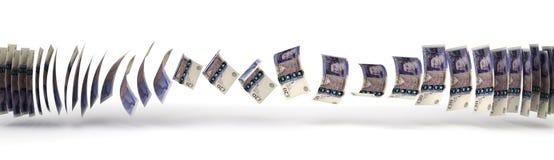 Transferencia de la libra stock de ilustración