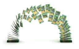 Transferencia del dólar australiano libre illustration