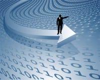 Transferência de dados Fotografia de Stock