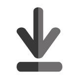 Transferência do ícone isolado Internet Imagem de Stock