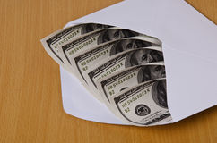 Transferring money Royalty Free Stock Photo