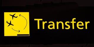 Transfert photographie stock