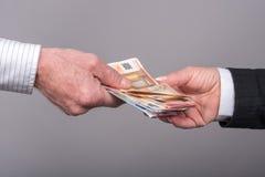 Transfert d'argent image libre de droits