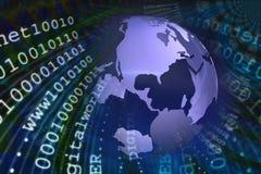 Transfert de données illustration libre de droits