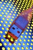 Transfert de données d'USB Image libre de droits