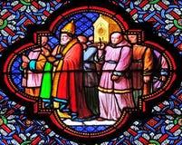 Transfert des reliques de Saint Remi photos libres de droits