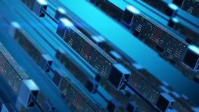 Transfert et stockage des données photos libres de droits