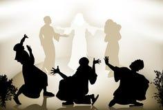 Transfiguración de Jesús Imagen de archivo libre de regalías