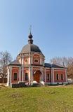 Transfiguración de la iglesia de Jesús (1777). Kraskovo, Rusia Foto de archivo
