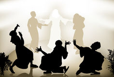 Transfiguratie van Jesus Royalty-vrije Stock Afbeelding