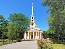 Transfiguratiekathedraal in Dnipropetrovsk Stock Foto's