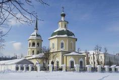 Transfiguratiekerk in Irkoetsk Royalty-vrije Stock Afbeelding