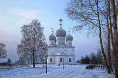 Transfiguration Cathedral in Belozersk, Russia Stock Photos