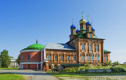 Transfiguration Cathedral Cathedral in the town of Usolie Royalty Free Stock Images